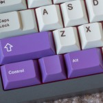 GMK Purple Mods (doubleshot ABS)