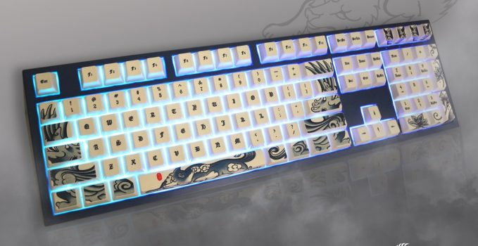 Ducky 'Year of the Dog' and its Tattoo Keycaps