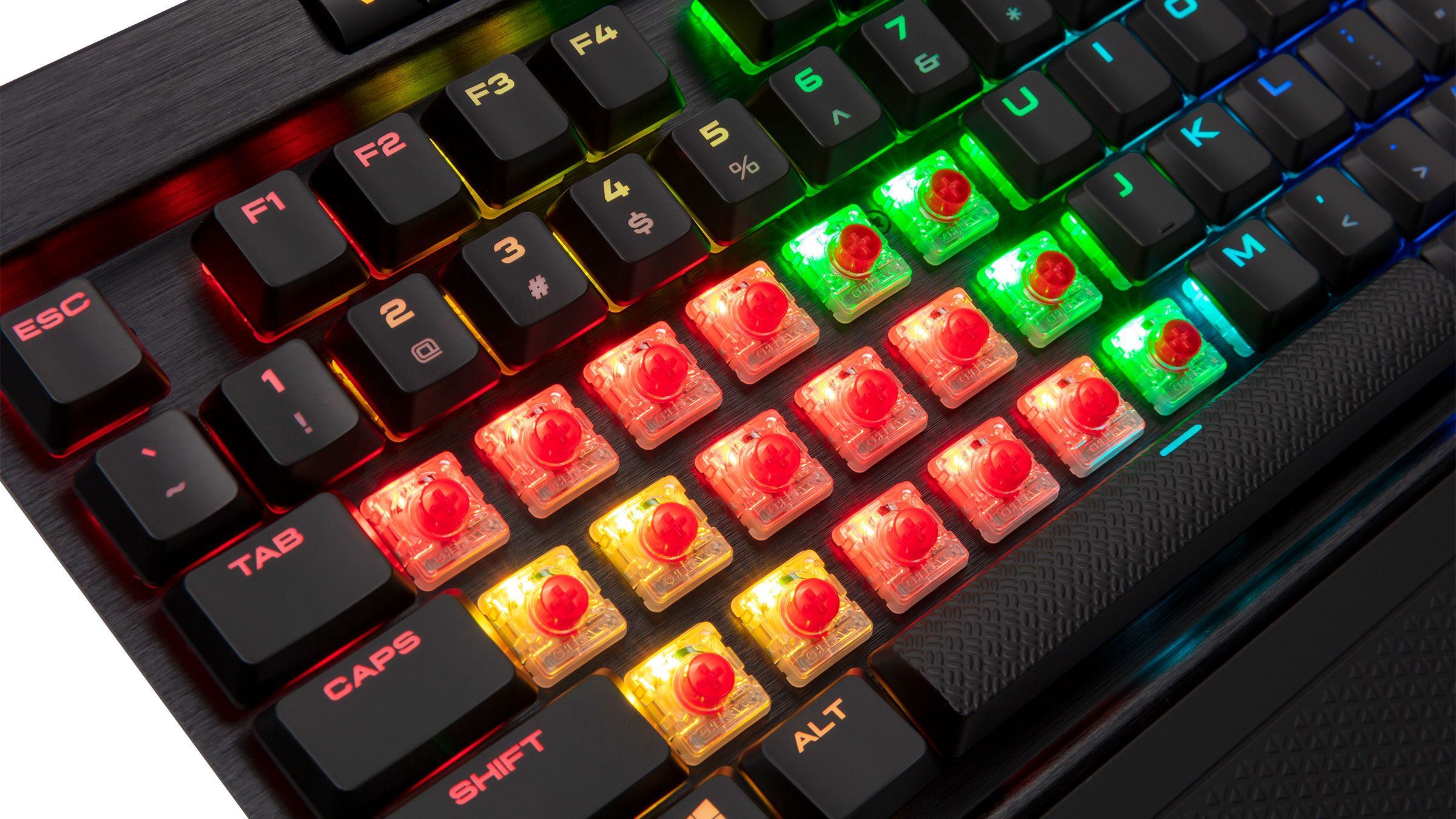 ac9abf08632 Corsair First To Market With Cherry MX RGB Low-Profile Switches ...