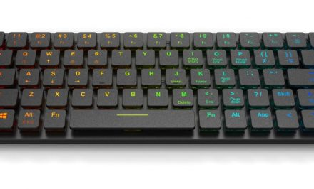 Anidees Prismatic RGB low profile keyboard