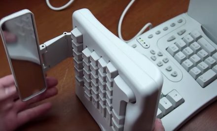 safetype vertical ergonomic keyboard